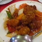 上海菜館 - ○酢豚