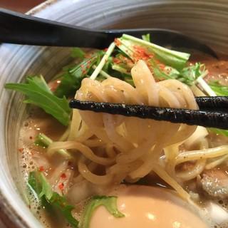 麺処 と市 - 料理写真:味玉らーめん(並)  850円