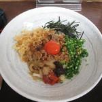 うどん蔵ふじたや - 料理写真:まぜ麺