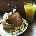 グッド デイズ - メキシカンバーガー&オレンジジュース