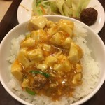 中国料理 天祥 - 麻婆飯完成
