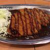 ゴーゴーカレー - 料理写真:ロースカツカレー、エコノミークラス(ごはん普通)780円
