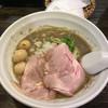 丿貫 - 料理写真:純煮干しそば+ウズラの炙り味玉