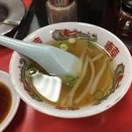 豚珍館 - 料理写真:チャーハンのスープ