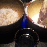 焼味尽本舗 - 麦とろ飯
