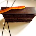 デザートカフェ長楽館 - ショコラオランジェ