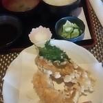 たこ助 - 大海老と魚の天ぷら定食