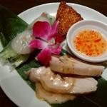アジアンテイブル - 前菜3種です♪