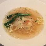 68782082 - 海老雲呑入り香港細麺のスープヌードル