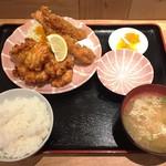 浪速鶏から 北野屋 - 170311北野定食800円