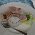 日本海夕陽ブルワリー - 料理写真:ディナーセットB