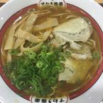 吉備サービスエリア(上り線)レストラン - すわき後楽中華そば(´∀`)