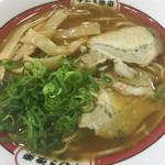 吉備サービスエリア(上り線)レストラン - すわき後楽中華そば(^。^)