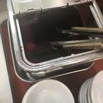吉備サービスエリア(上り線)レストラン - セルフ(´∀`)是非一緒に 梅干し