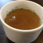 カフェ プティパ - セットスープ