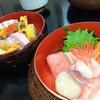 鮨処 はせ川 - 料理写真:三段でひょうたん型の器に(上生ちらし)