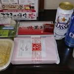餃子の王将 - 今回の食べ比べラインナップ