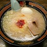 一蘭 - 【ラーメン + 半熟塩ゆでたまご】¥890 + ¥130