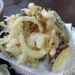 たかべえ - 料理写真:かき揚げ