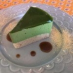 スパイス&カフェ NICO - 抹茶のケーキ