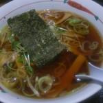 福よし - 醤油ラーメン410円