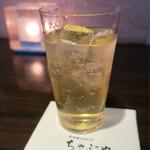 居酒家 Bistro ちゃぶや - 「自家製果実酒シトラスミックス」(550円)