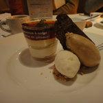L'ESPOIR du cafe - プリンにアイス