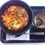 吉野家 - 料理写真:牛キムチクッパ 280円