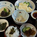 きしの - 湯波定食(2,000円)