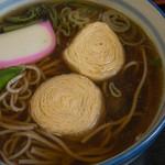 きしの - 湯波そば(1,000円)