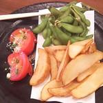 TOKYO都庁議事堂レストラン - (梅コース)前菜3種盛り