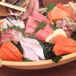 TOKYO都庁議事堂レストラン - (梅コース)お造り盛合せ