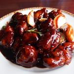 台湾料理 百香軒 - 黒酢の酢豚