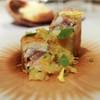 ete - 料理写真:鮎のパートフィロー包み、鮎の内臓を使ったソース