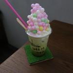 68792596 - 桜&京都宇治抹茶ラテ1
