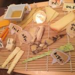 チーズ酵房 Parme - チーズ盛り合わせ