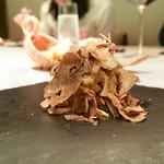 68792789 - イノシシの頬肉と野菜、サマートリュフ添え
