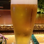 カフェオアシス - 生ビールはスーパードライ300円