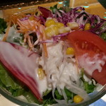 カフェオアシス - サラダ単品200円