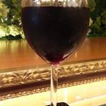 カフェオアシス - 赤ワイン250円