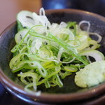 炭焼豚丼 空海 - 薬味