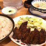 ajinogyuutankisuke - 牛タン定食+とろろ