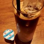 バルビダ - アイスカプチーノ。苦みもミルク感もしっかり!