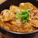 麺屋 開高 - 十勝ホエー豚丼