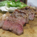 肉バル キングコング - 黒毛牛リブロースステーキアップ