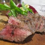 肉バル キングコング - 黒毛牛うちひらステーキアップ