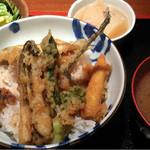 めしの助 - 天丼