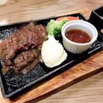 68797173 - 鉄板牛ハラミステーキ定食
