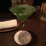 68797280 - 緑茶とジンのカクテル