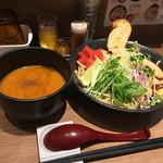 つけめん・らーめん 海老鶏麺蔵 - 海老つけ麺〜(*゚.∀゚*)/¥850円